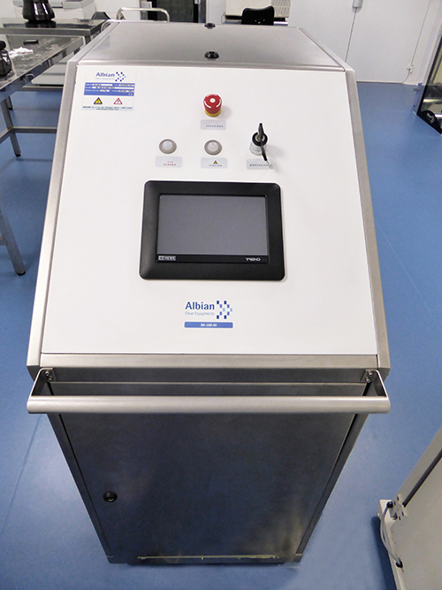 Disinfection equipment for Clean Room - Grupo Albian
